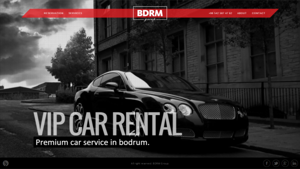 BdrmGroup.com - Website - Tourism Services